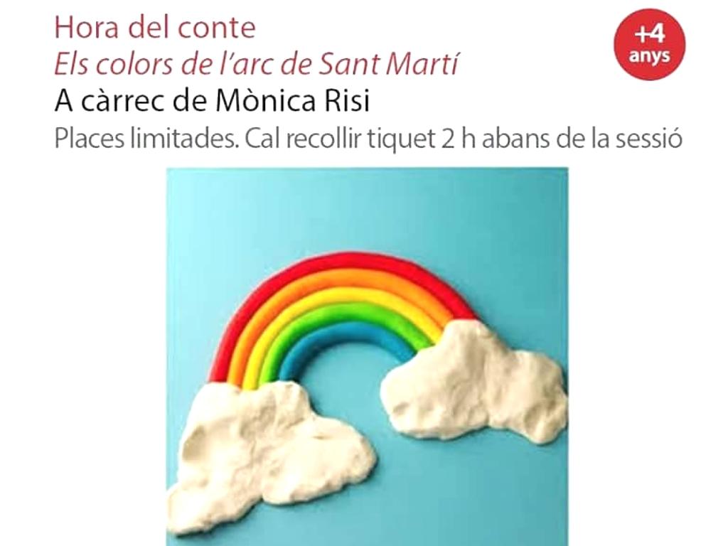 Ajuntament De Sant Cugat Hora Del Conte Els Colors De L Arc De Sant Martí 14 11 2018