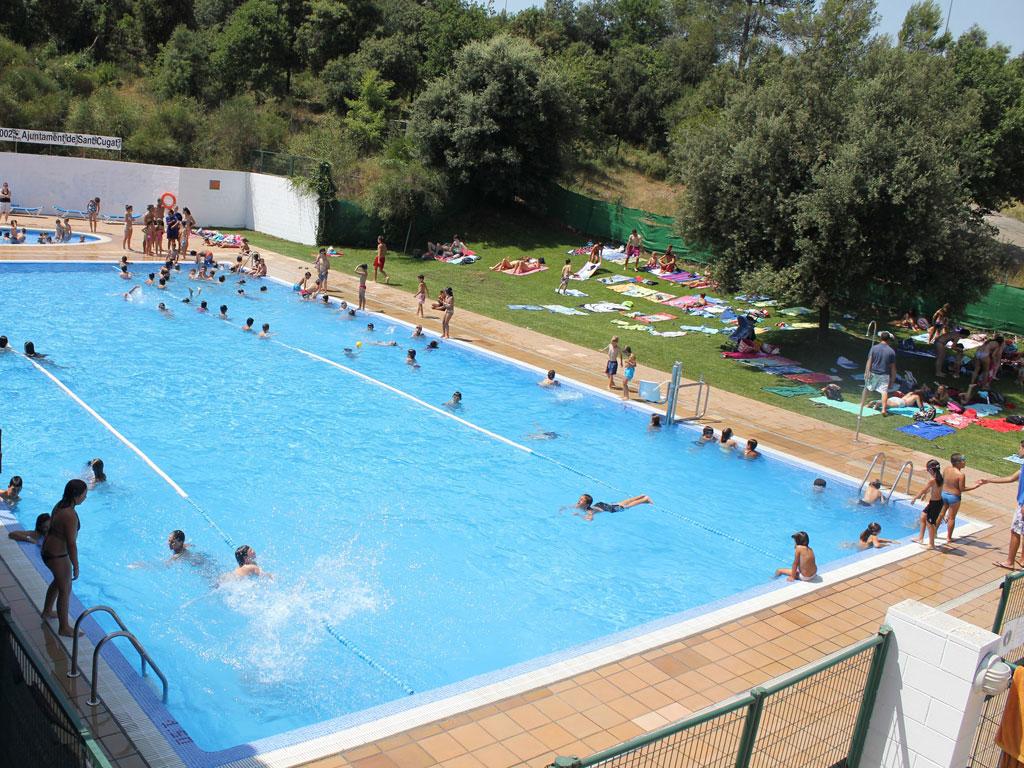 ajuntament de sant cugat piscines d 39 estiu
