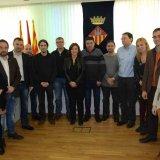 Trobada alcaldes i alcaldesses vallesans amb representants comitè d'empresa de Delphi
