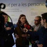 Mercè Conesa, després d'una reunió entre Ajuntament, Generalitat i Comitè d'empresa de Delphi