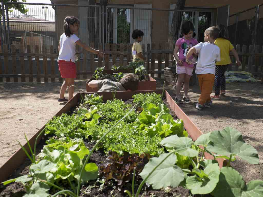 Grup d'infants a hort escolar