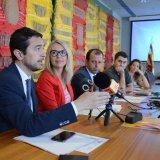 Presentació de les mesures per fomentar l'ocupabilitat pactades per quip de govern i ERC-MEs