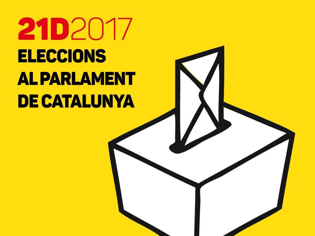 Resultat d'imatges de eleccions parlament de catalunya  21D